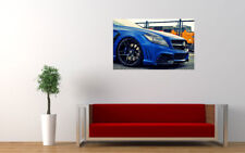 """MERCEDES BLACK BISON CLS AMG PRINT WALL POSTER PICTURE 33.1"""" x 20.7"""""""