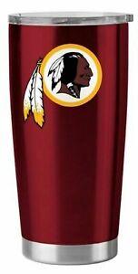 Washington Redskins 20 oz Stainless Steel Insulated Ultra Travel Tumbler Mug