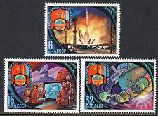 5052 - Russia 1981 - Intercosmos Program - Ussr and Mongolia - Space - Mnh Set