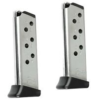 Walther Ppk 32acp 7rd with Finger Rest Nickel Factory Magazine 2-Pack