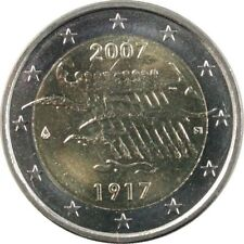 Pièces euro de la Finlande pour 2 euro Année 2007