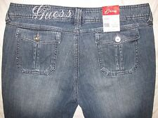 GUESS Jeans 34 Actual Size 35 1/2 X 27 1/4 Straight Leg Women's Jeans NEW