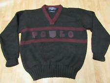 Vintage Ralph Lauren Polo Sport Sweater Large Wool
