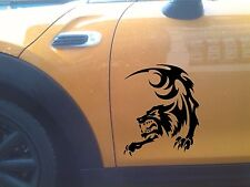 Tatouage tribal loup Autocollant Vinyle Autocollant Voiture Van Ordinateur Portable corps noir grapgic tout -