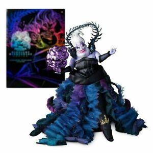 Disney store Ursula Limited Limitierte Edition doll Midnight Maskerade NEU
