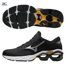 Mizuno Wave Creation 22 Black White Men Running Shoes J1GC210103