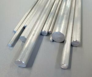 Aluminium Metal Solid Round Rod Bar 4, 5, 6, 8, 10, 12, 16mm Dia Various Lengths