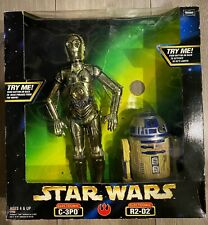 Collectible Kenner Star Wars Action Electronic C-3PO & Electronic R2-D2.