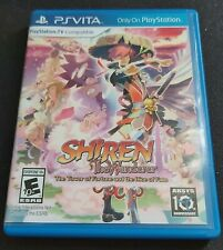 Shiren The Wanderer: The Tower of Fortune and and the Dice of Fate PS Vita US