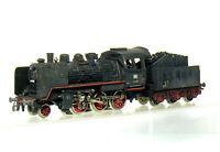 Märklin 3003 H0  Dampflok BR 24 058 der DB  - betriebsverschmutzt gealtert