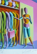 "MARK KOSTABI ""Options"" NUMBERED LIMITED EDITION HAND SIGNED URBAN ART US ARTIST"