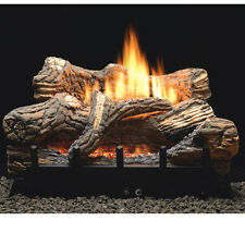 "Flint Hill Vent Free Gas Logs - 30"" - On/Off Remote - Natural Gas"