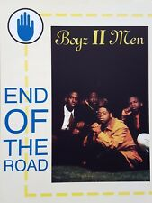 Boyz II Men: End Of The Road (Piano/Vocal/Chords Sheet Music) - MINT CONDITION!