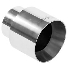 "NEW Magnaflow 35124 Stainless Exhaust Tip 2-1/4 Inlet 4"" Out 4-5/8 Long Polished"