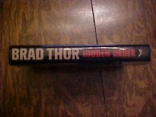 2013 Book HIDDEN ORDER by Brad Thor/Scot Harvath THRILLER COSTCO Bonus Chapter