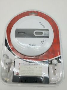 GPX CDP-3306CK Personal CD Player with Car Kit Vintage