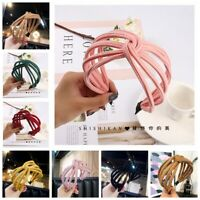 Hair Hoop Wide Band Hairband  Hollow Headband Bow Knot  Hair  Accessories