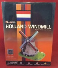 3D Puzzle Cubic Fun Holland Windmill 45 Pieces - New & Sealed
