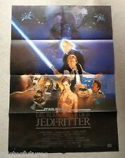 1983 Star Wars Return of the Jedi Original German Movie Theater Poster 33x24 New