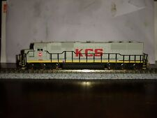 Atlas N scale locomotive custom painted sd60 kcs #750