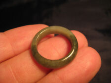 Natural Jade ring Thailand jewelry stone mineral art size 6.5 A39 12B