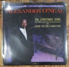 "ALEXANDER O'NEAL - The Christmas Song (Chestnuts...) ~7""Vinyl Single~*CHRISTMAS*"