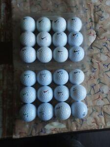 24 Nike Golf Balls Used