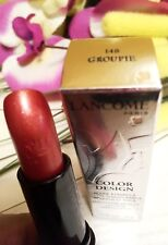 Lancome Color Design Sensational Effects Lipstick 148 GROUPIE Full Sz New in Box