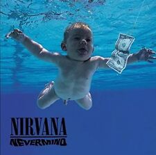 NIRVANA 'Nevermind' 180gm Vinyl LP + Download 2008 (12 Tracks) NEW & SEALED