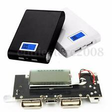 5V 1A 2.1A Dual USB Mobile Power Bank 18650 Battery Charger PCB LCD Display DIY
