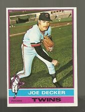 1976 Topps Joe Decker #636 NMT-MINT