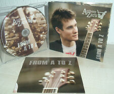 ANTHONY ZARO  -  From A To Z   ( Digipack)  Songwriter from Russia
