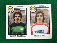 CALCIATORI 1982-83 82-1983 n 490 MONZA MASCELLA FASOLI , Figurina Panini NEW