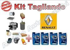 KIT TAGLIANDO RENAULT CLIO 1.5 DCI 63KW DAL 2005 --  OLIO ELF 5W40 + FILTRI