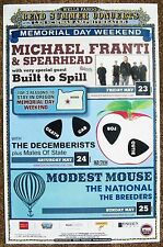 MICHAEL FRANTI SPEARHEAD MODEST MOUSE 2008 POSTER Gig Bend Oregon Concert