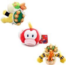 3pcs Super Mario Bros King Bowser Koopa and Jr Koopa X'mas Plush Toy Figure