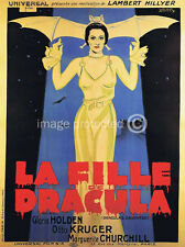 Dracula's Daughter Vintage Movie Poster  18x24