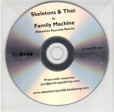 (EG8) Family Machine, Skeletons & That - DJ CD