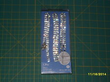 Offray Jeweled BELT - 39 inches long (99 cm)