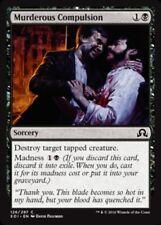 MTG Magic 4x Light Play, English Murderous Compulsion Shadows Over Innistrad Fas