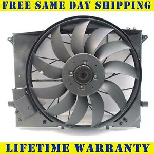 Radiator Cooling Fan Assembly For Mercedes-Benz S430 S500 MB3115115