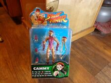 2005 SOTA TOYS--STREET FIGHTER--CAMMY FIGURE IN PURPLE (NEW) ROUND 2
