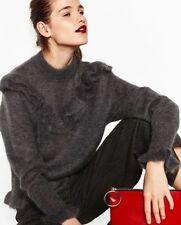 Zara Hip Length All Seasons Jumpers & Cardigans for Women