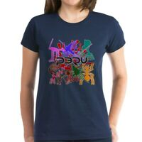 CafePress Peru Nazca Colors Women's Dark T Shirt Womens T-Shirt (689333217)