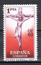 ESPAÑA Nº 1282**  SELLO 1 PESETA  CIF CORREO