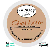 Twinings Chai Latte Black Tea Keurig K-cups YOU PICK THE SIZE