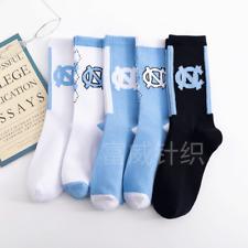 Jordan1 Retro White University Designer Unisex Crew Running Sports Socks 5 Pairs