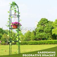 Gardening Stand Flower Display Climbing Plant Hanging Rack Vine Holder Frame U