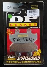 Dunlopad DP 109 Quality Motorcycle Sintered Brake Pads FA124 BC39492 - T