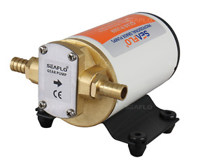 ALL NEW SEAFLO 12V 3.2GPM Gear Pump for Oil/Water/Fuel/Diesel Transfer